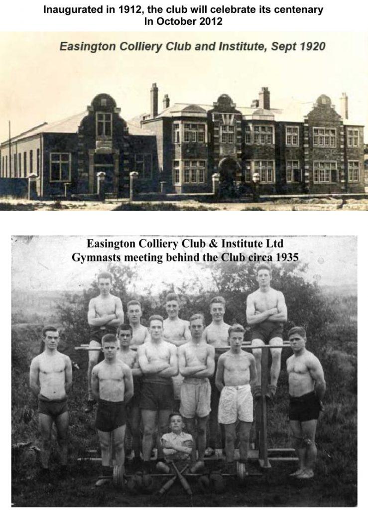 Easington Colliery Club History