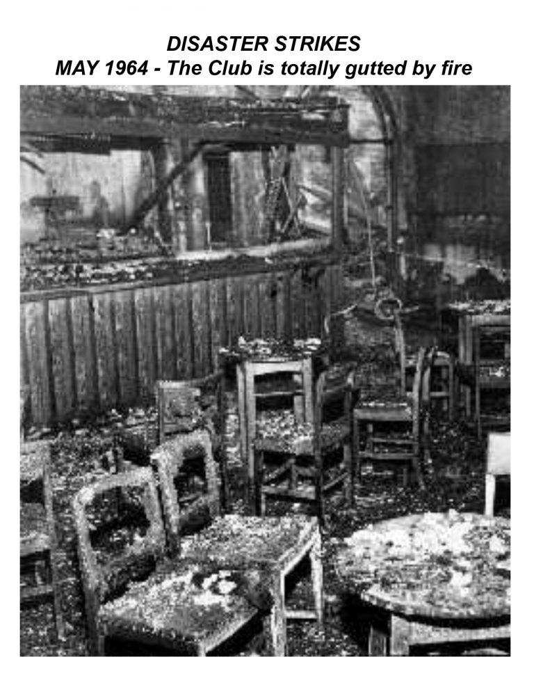 Easington Colliery Club fire