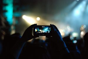 mobile phone, concert, record-1845233.jpg
